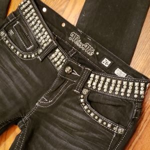 Bad A$$ studded Miss me size 26